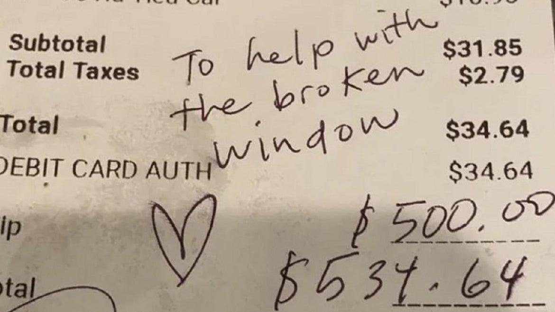 Patron Leaves $500 tip at Vandalized Vietnamese Restaurant