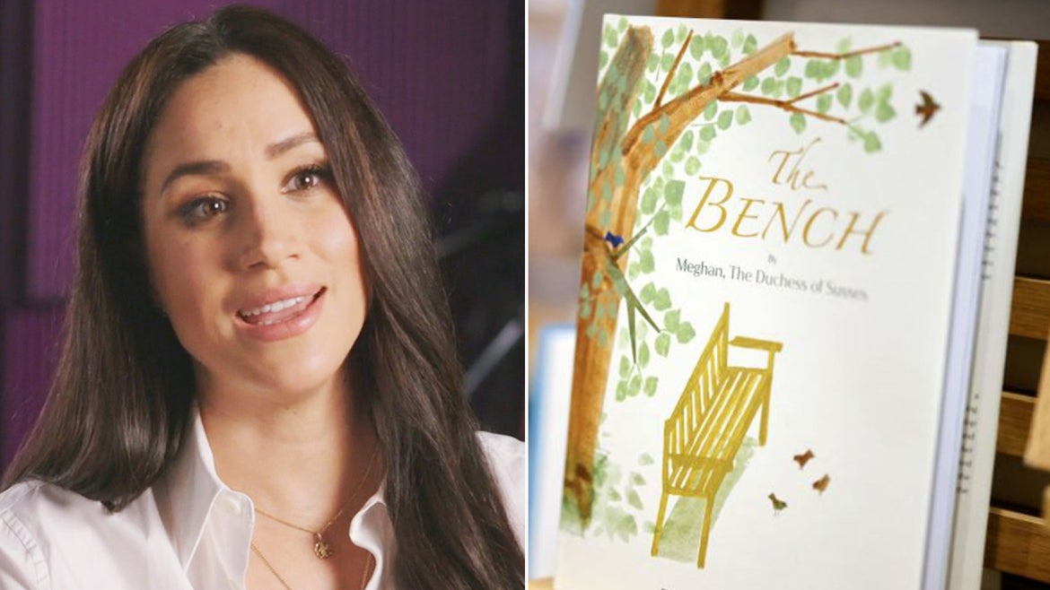 """Meghan Markle's """"The Bench"""" is an homage to a bench she purchased for Prince Harry for his first Father's Day."""
