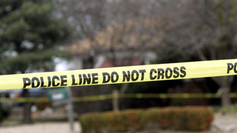 Stock image of crime scene