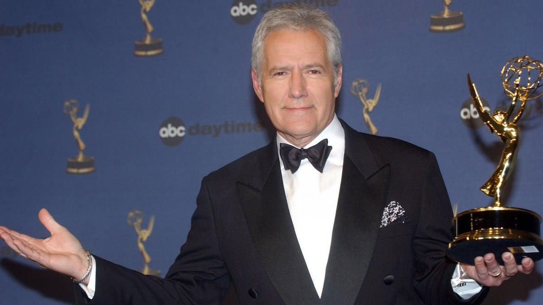 "Alex Trebek, winner of Outstanding Game Show Host for ""Jeopardy!"