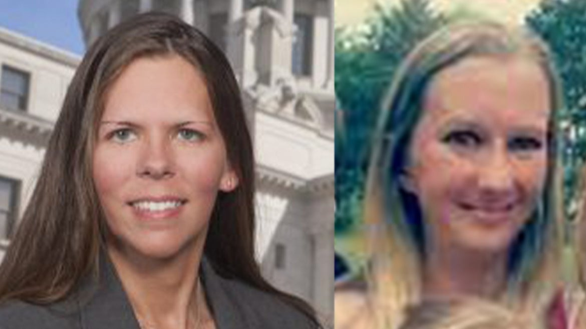 (l-r) Former Rep. Ashley Henley and sister-in-law ,Kristina Michelle Jones deaths are being investigated by Mississippi investigators.