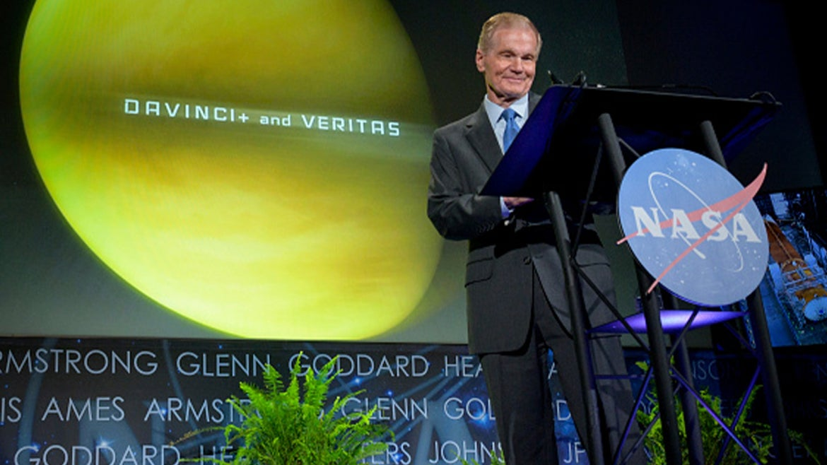 NASA Administrator Bill Nelson Gives State-of-Agency Address
