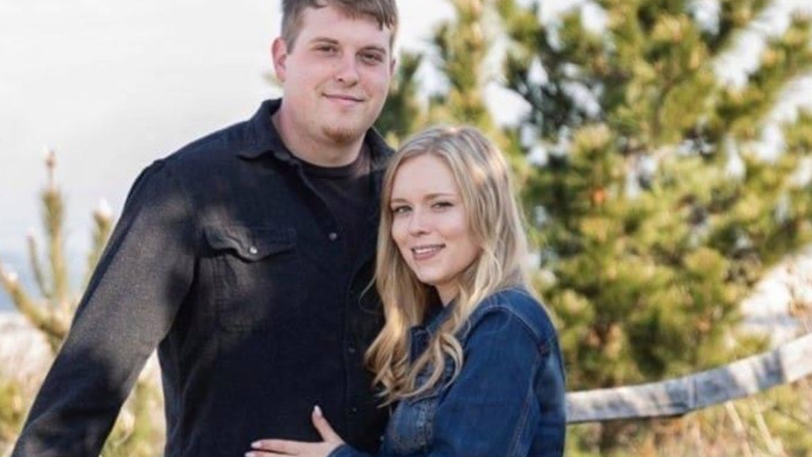 Sean Avon, 26 pictured with wife, Jessica Avon, was tragically killed on June 11th.