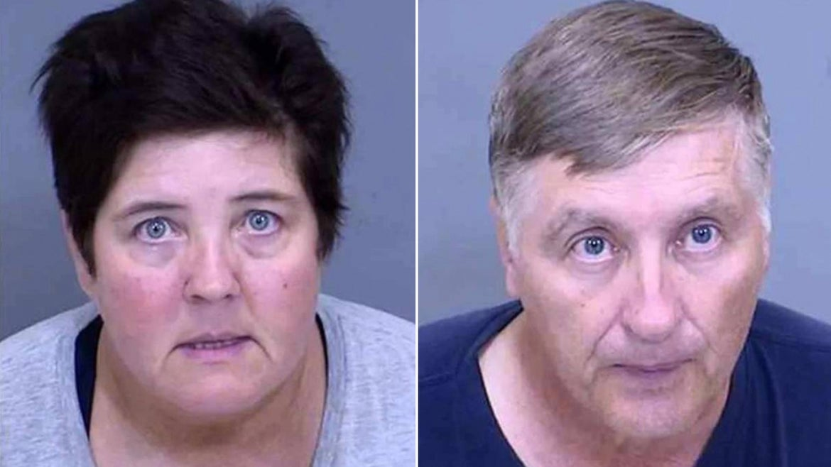 Tangela Parker, 50, and husband Eric Parker, 62, were apprehended by U.S. Marshals Tuesday.