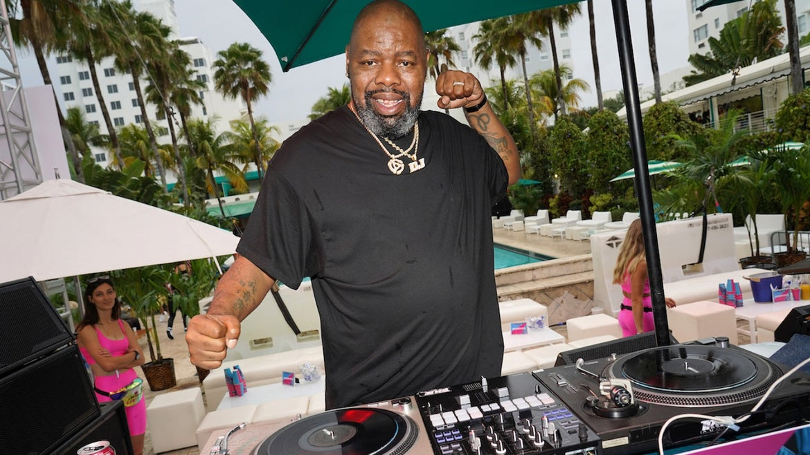 FEBRUARY 01: Rapper Biz Markie performs onstage during BACARDI's Big Game Party at Surfcomber Hotel on February 01, 2020 in Miami Beach, Florida