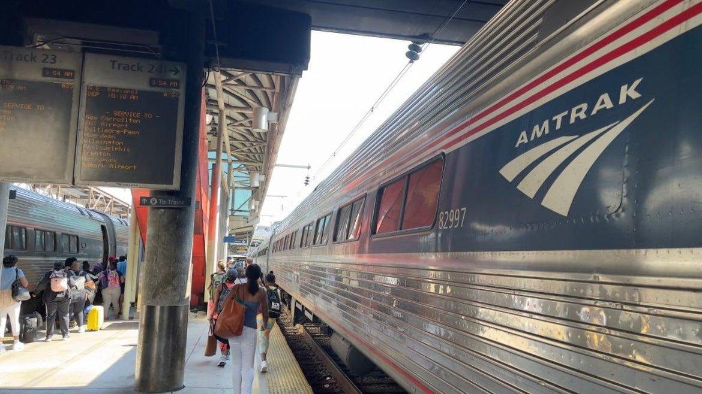 Amtrak train station