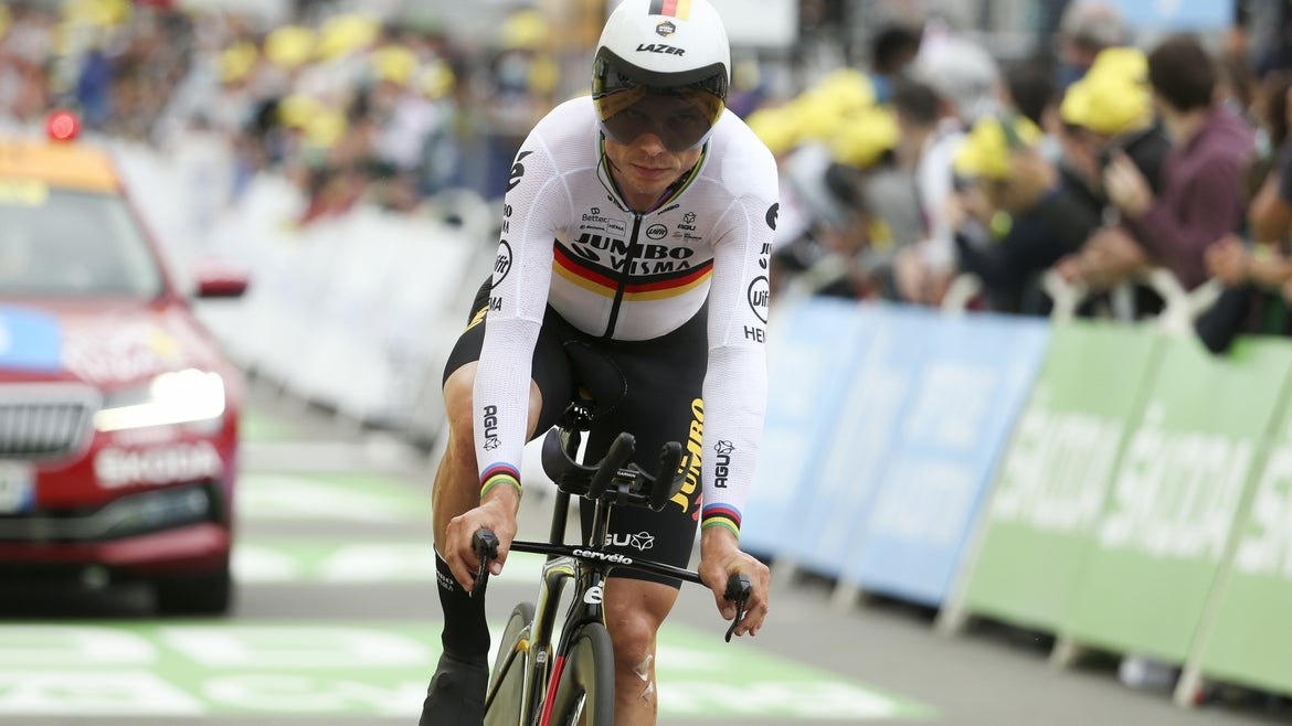 Tony Martin of Germany and Jumbo - Visma during stage 5 of the 108th Tour de France 2021.