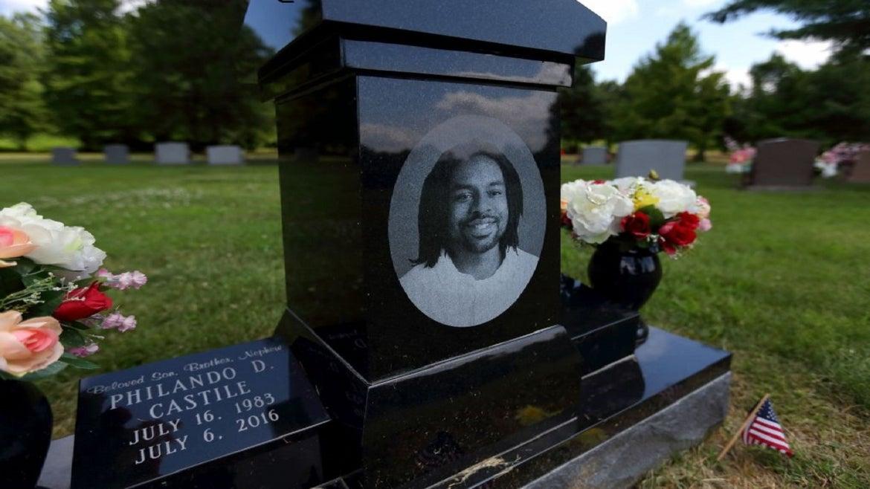 The grave of Philando Castile