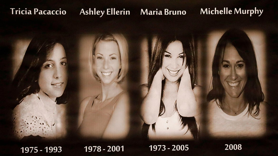 Three women killed by 'The Hollywood Ripper.' Michelle Murphy, 26, was the only survivor.