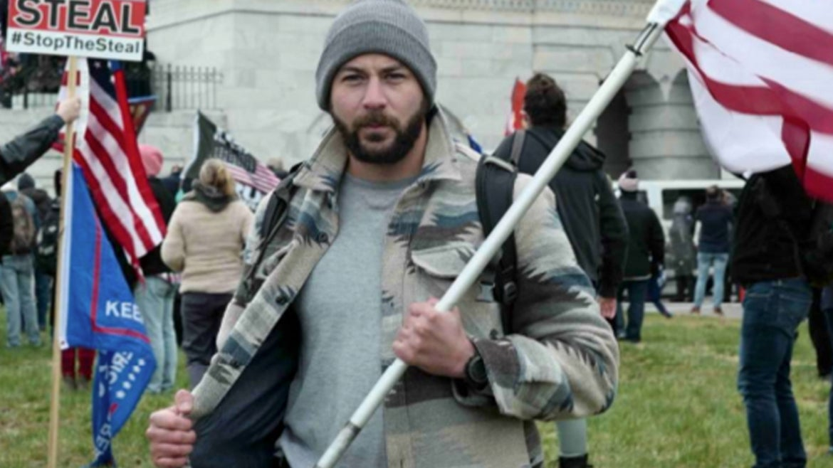 Mark Ibrahim, former DEA Agent Charged with his role in Jan. 6 Insurrection