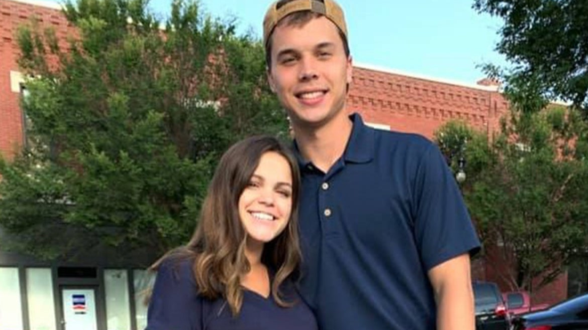 Brandon and Samantha Russell in happier times.