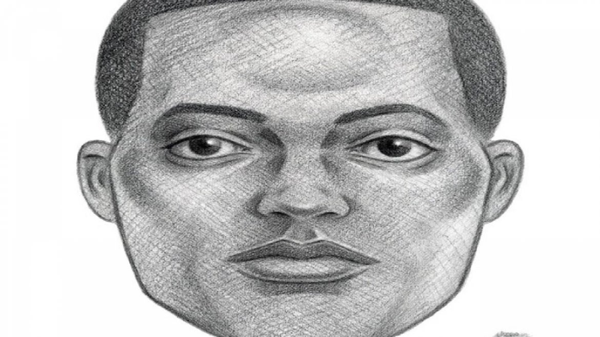 Police sketch of wanted man in New York City