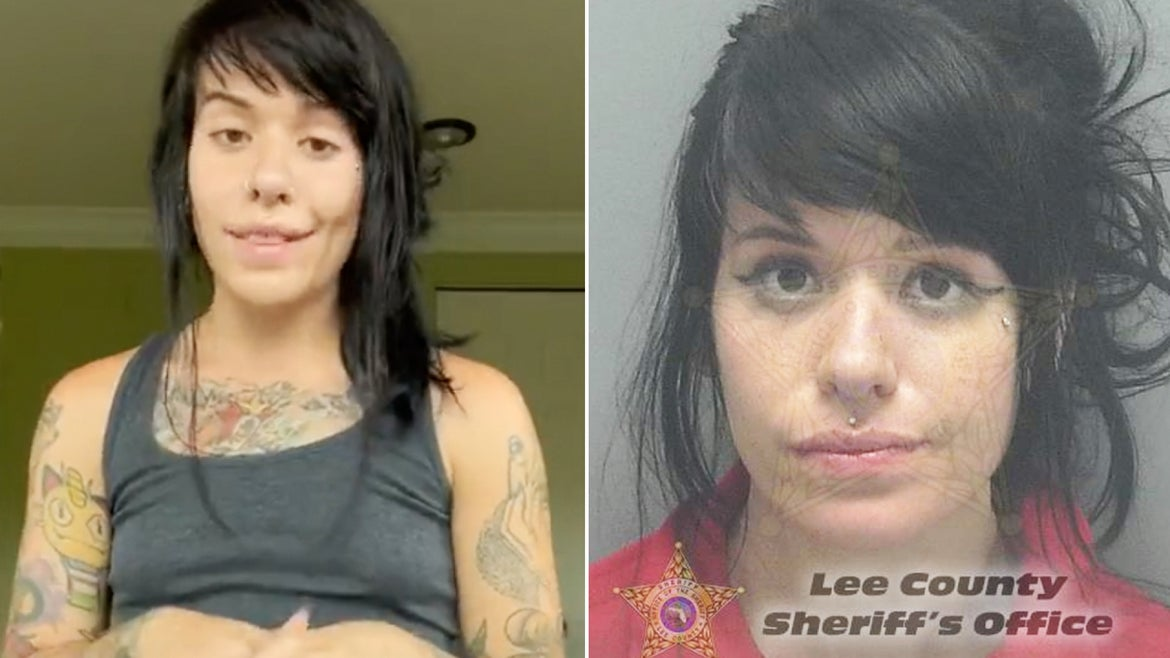 Marrissa Cloutier, also known by her online persona @digitalprincxss, was arrested last week for child neglect.