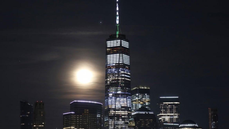 Jupiter, the moon, and Saturn in NY