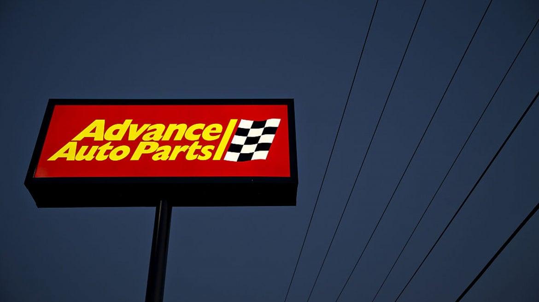 Advance Auto Parts sign