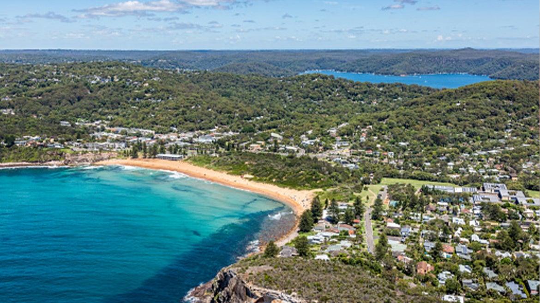 A stock image of a beach scene in Avalon, Australia.