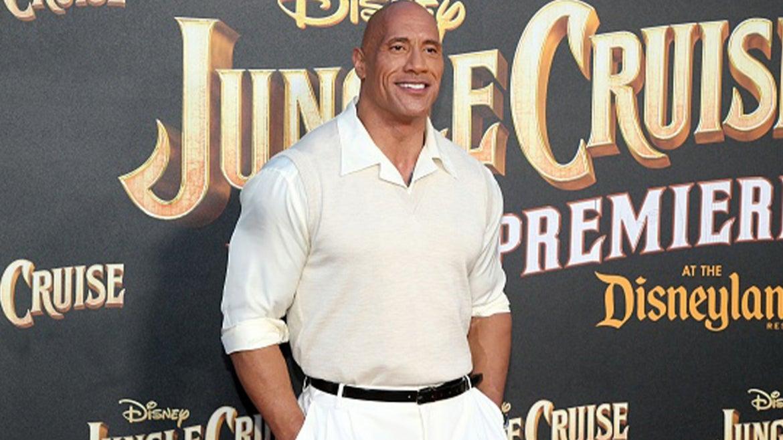 """Dwayne Johnson, aka """"The Rock"""""""