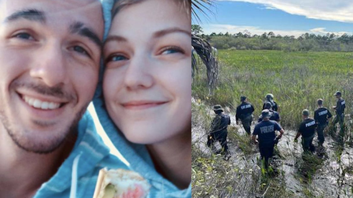 Brian Laundrie, 23 is still on the run after his fiancee's remains, Gabby Petito, 22 were found in Wyoming on Sept. 19, 2021