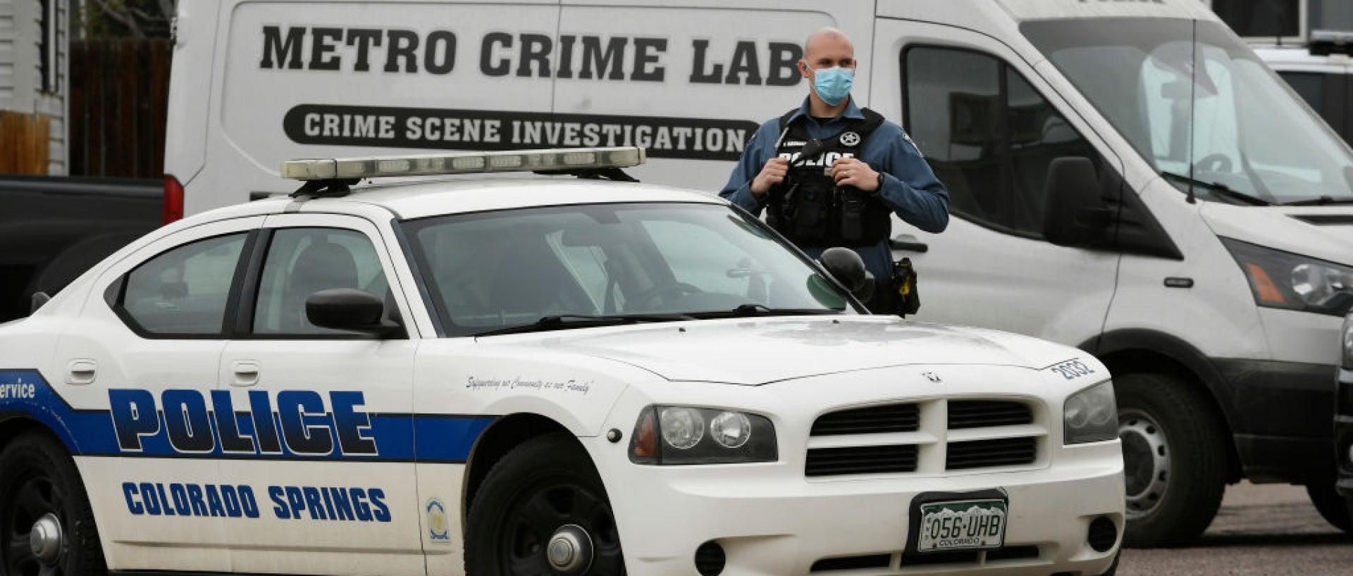 Colorado Springs police car