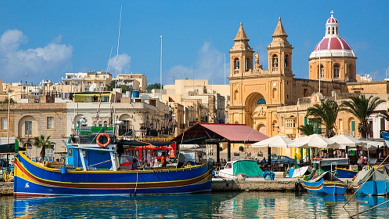 A scenic view of the island of Malta.