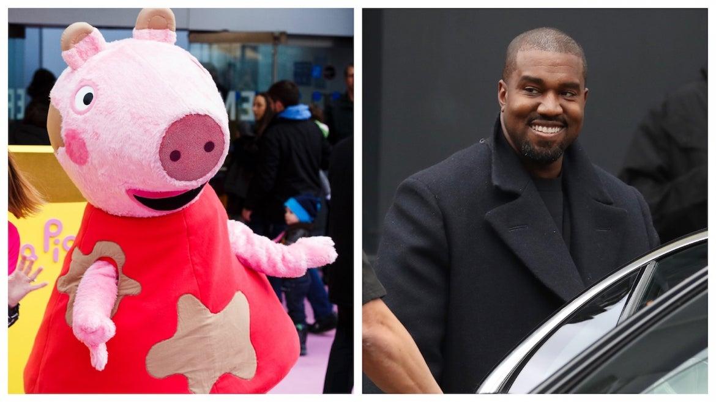 Peppa Pig vs. Kanye West
