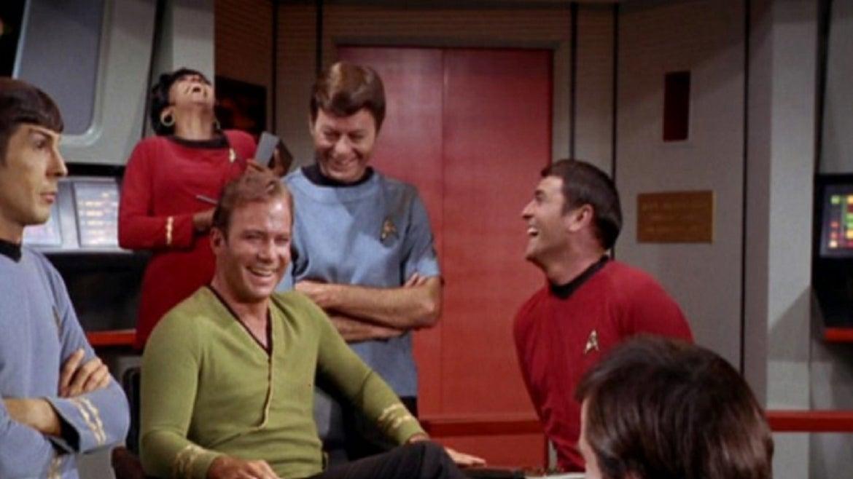 """Star Trek"" cast."
