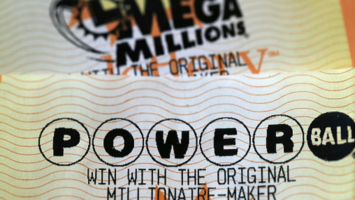 A stock image of a Powerball ticket.