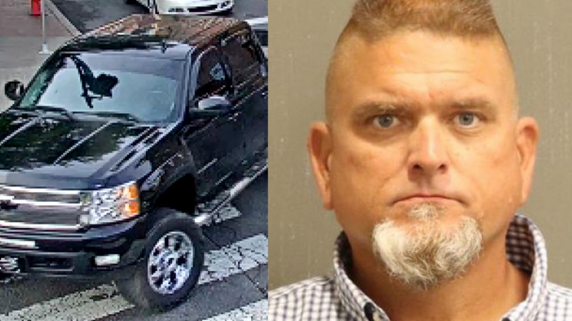 Suspect Randall C.  Johnson, 49, arrested on sex crime charges.