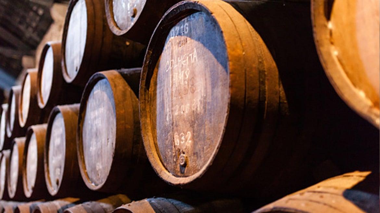 A stock image of a wine barrels.